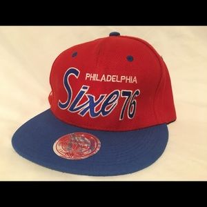 Philadelphia 76ers Red Snapback Hat